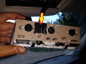 Brancher plafonnier avant - BMW série 5 E60 - Tuto voiture
