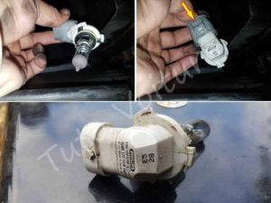 Ampoule anti-brouillard - BMW E60 série 5 - Tuto voiture