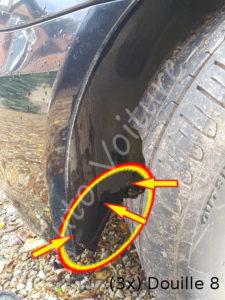 Démontage passage de roue - BMW E60 - Tuto voiture