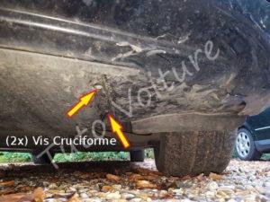 Fixation protection moteur - BMW E60 - Tuto voiture