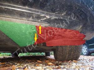 Démontage protection moteur - BMW E60 - Tuto voiture