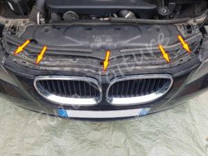 Fixation pare choc avant - BMW série 5 E60 - Tutovoiture