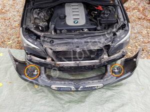 Dépose pare choc avant - BMW série 5 E60 - Tuto voiture