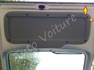 Enlever garniture coffre - Renault Kangoo - Tuto voiture