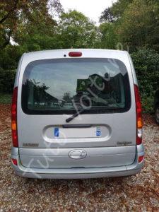 Vue arrière Kangoo - Renault Kangoo - Tuto voiture