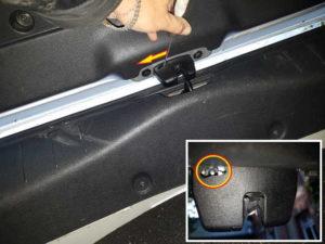Sécurité ouverture coffre centralisé en panne - Citroën DS3 - Tuto voiture