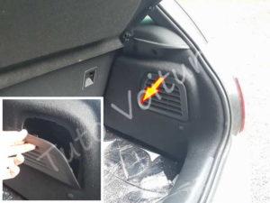 Ouvrir trappe accès ampoules - Citroën DS3 - Tuto voiture