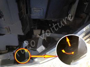 Sortir douille ampoule clignotant - Citroën DS3 - Tuto voiture