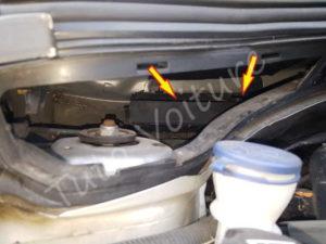 Retirer filtre habitacle - Citroën DS3 - Tuto voiture