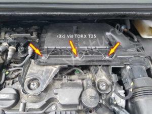 Fixation filtre air - Citroën DS3 - Tuto voiture