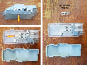 Changer ampoule w5w coffre - Citroën DS3 - Tuto voiture