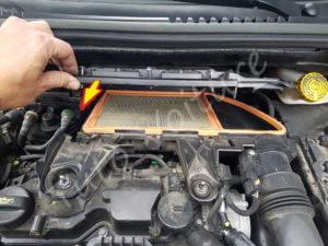 Retirer capot filtre air - Citroën DS3 - Tuto voiture