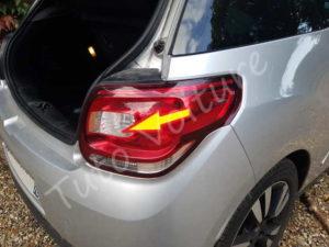 Sortir optique arrière - Citroën DS3 - Tuto voiture