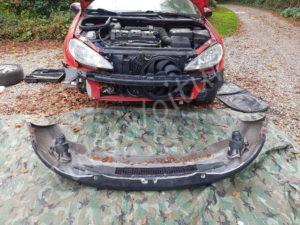 Retirer pare-choc avant - Peugeot 206cc - Tuto voiture