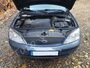 Capot ouvert - Ford Mondeo 3 - Tuto voiture