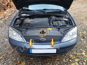 Déposer calandre - Ford Mondeo 3 - Tuto voiture