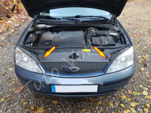 Fixation calandre - Ford Mondeo 3 - Tuto voiture