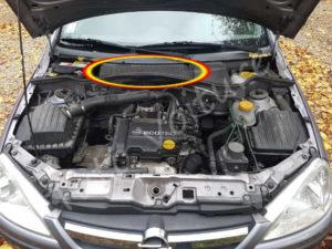 ou se trouve le filtre habitacle - Opel Corsa C - Tuto voiture