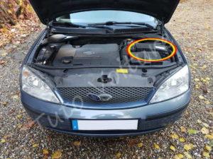 Position du filtre à air - Ford Mondeo 3 - Tuto voiture