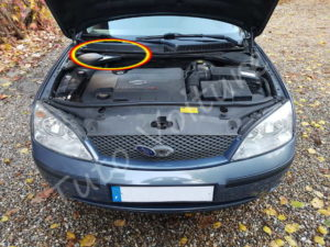 Position filtre habitacle - Ford Mondeo - Tuto voiture