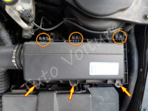 Fixation filtre air - Ford Mondeo 3 - Tuto voiture
