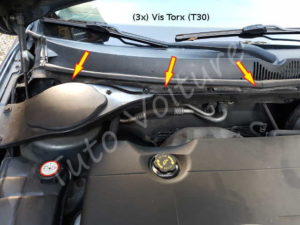 Fixation filtre habitacle - Ford Mondeo - Tuto voiture