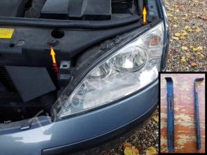 ampoule et optique avant comment les changer sur une ford mondeo tuto voiture. Black Bedroom Furniture Sets. Home Design Ideas