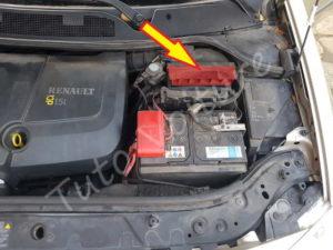 Position filtre air - Renault Megane 2 - Tutovoiture