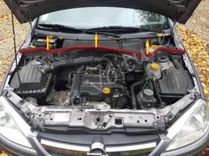 Emplacement filtre habitacle - Opel Corsa C - Tutovoiture