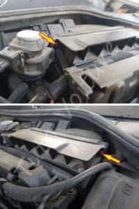 Fixation filtre air - Renault Megane 2 - Tutovoiture
