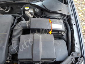Ouvrir filtre air - Ford Mondeo 3 - Tuto voiture