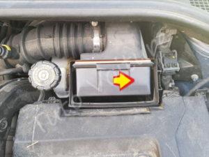Sortir filtre à air - Renault Clio 3 - Tutovoiture