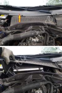 Accéder boîte filtre habitacle - Opel Corsa C - Tuto voiture