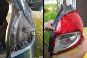 Déposer bloc feux arrière - Renault Clio 3 - Tutovoiture