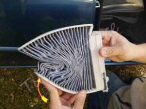 Montage filtre cabine - Renault Clio 3 - Tutovoiture