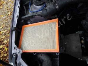 Filtre à air dans compartiment - Opel Corsa C - Tuto voiture