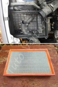 Remplacer le filtre à air - Opel Corsa - Tutovoiture