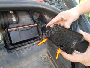 Remontage filtre à air - Renault Clio 3 - Tutovoiture