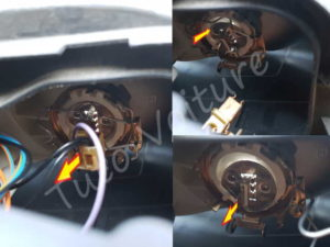 Sortir ampoule phare - Ford Mondeo 3 - Tuto voiture