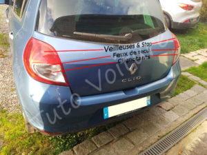 emplacement ampoule bloc feux arrière - Renault Clio - Tuto voiture