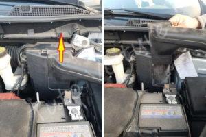 Retirer entrée d'air de la boite à air - Renault Kadjar - Tutovoiture
