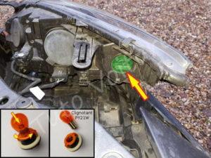 Changer son ampoule clignotant - Renault Megane 3 - Tutovoiture