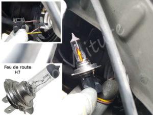 Changer votre ampoule feux de phare - Opel Corsa C - Tuto voiture