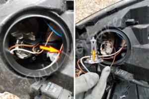 Changer son ampoule phare - Renault Megane 3 - Tutovoiture