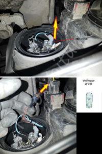 Retirer son ampoule veilleuse - Opel Corsa C - Tutovoiture