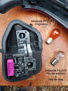 changement de votre ampoule à changer - Renault Mégane 3 - Tutovoiture