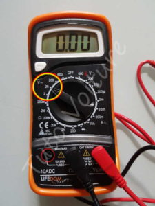 Calibrage voltmètre 20V continu - Tutovoiture