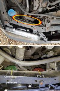 Accéder à ampoule de code - Toyota Avensis 1 - Tutovoiture
