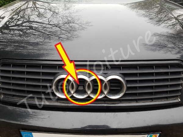 Tirette capot - Audi A4 - Tuto voiture
