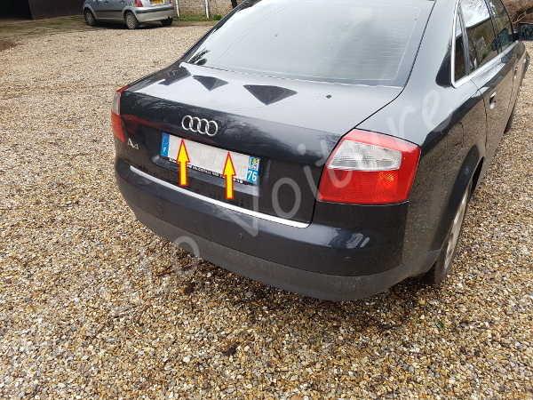 Eclairage plaque Audi A4 B6 - Tutovoiture